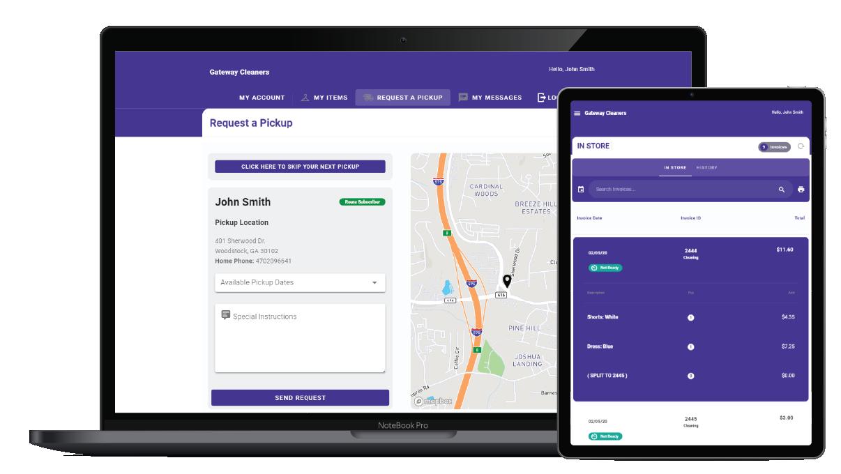customer gateway app